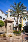 Marbella Old Town Stock Photos