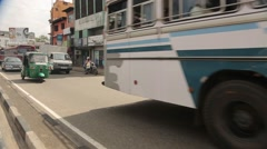 Traffic in Sri Lanka Stock Footage