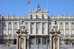 Royal Palace in Madrid - stock photo