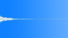 Button sound or menu sound, 'metallic' Sound Effect