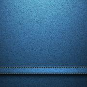 Textile texture jeans background Stock Illustration
