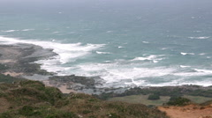 Stock Video Footage of Taiwan Kenting National Park Seascape. HD