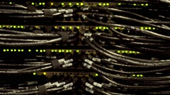 Technology Servers Data Center Stock Footage