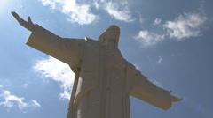 Cristo de la Concordia Stock Footage