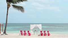 Cap Cana beach - Dominican republic - Wedding Stock Footage