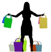 Consumer Stock Illustration