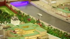 Layout Moscow Stock Footage