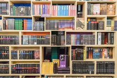 International Science Fiction Books - stock photo