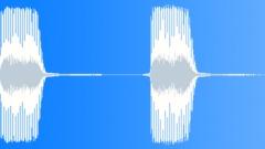 Cartoon Bike Horn Double Sound Effect