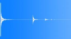Bullet Shell Drop Machine Gun Hollow Wood 04 Sound Effect