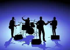 Band - stock illustration