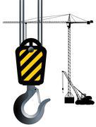 Crane Hook Stock Illustration