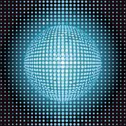 light grid - stock illustration
