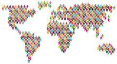 World partnership Stock Illustration
