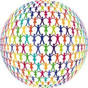 People Partnership - stock illustration