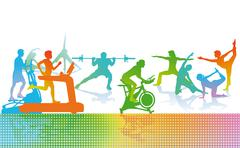 Fitness and Sports  Piirros