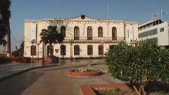 Exterior of the Arica-La Paz railway station building in Arica, Chile. Stock Footage