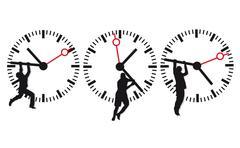 Stock Illustration of time deadline