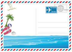 Holiday and Travel Wallets - stock illustration