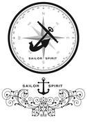 Sailor Spiri - stock illustration