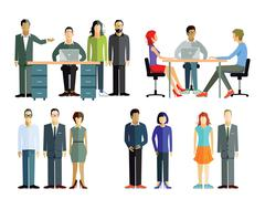 employees Community - stock illustration