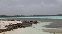Windsurf  Caribbean Sea Stock Footage