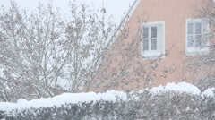 Stock Video Footage of Little village in Winter