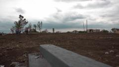 Joplin tornado aftermath Stock Footage
