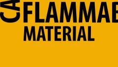 Flammable Material Keep Fire Away. - stock footage