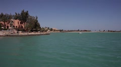 Egypt, El Gouna, travel, Hurghada Stock Footage