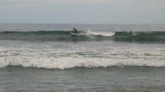Surfer in Mexico Stock Footage