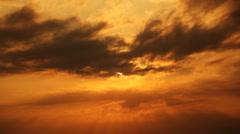 Sunset - Timelapse - stock footage