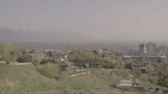 4K Utah State Capitol - Salt Lake City - Pan SLOG Stock Footage