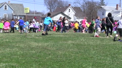 Easter Egg Hunt Stock Footage