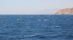 The Gulf of Eilat Stock Footage
