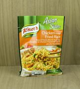 Bag of Knorr Chicken Flavor Rice noodle mix Stock Photos
