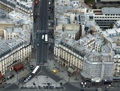 Paris street view Stock Photos