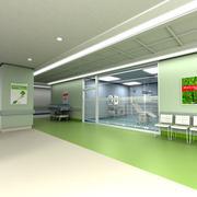Modern clinic - stock illustration