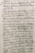 Stock Photo of Old manuscript