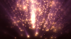 Heavenly Particles 1 Stock Footage