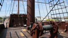 Stock Video Footage of Maritime Museum in Malacca, Malaysia