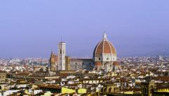 Cattedrale di Santa Maria del Fiore Florence, Italy 4K Stock Video Footage - stock footage