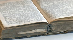 holy bible - stock footage