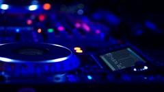 DJ Set Stock Footage