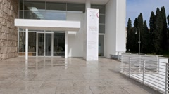 Museo dell'Ara Pacis. Rome, Italy Stock Footage