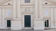 Chiesa di San Rocco all'Augusteo. Rome, Italy Stock Footage