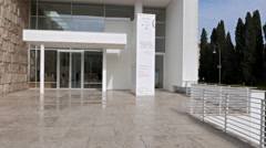Museo dell'Ara Pacis. Rome, Italy. 4K Stock Footage