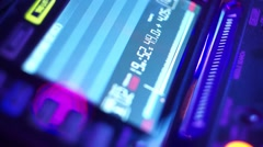 DJ At A Club Set Mix Stock Footage
