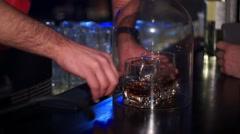 Good Bar, Sambuka Stock Footage