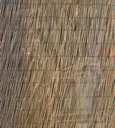 Texture of large bamboo canes entwined with each other Stock Photos